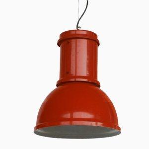Industrielle Loft Deckenlampen von Fontana Arte, 1960er, 2er Set