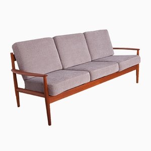 Mid-Century Danish Teak Sofa by Grete Jalk for France & Søn / France & Daverkosen, 1960s