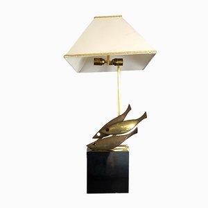 Mid-Century Italian Brass Table Lamp from Pragos, 1970s