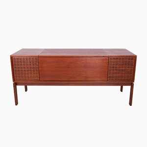 Mid-Century Danish Sideboard for Gramophone from Bang Olufsen, 1970s