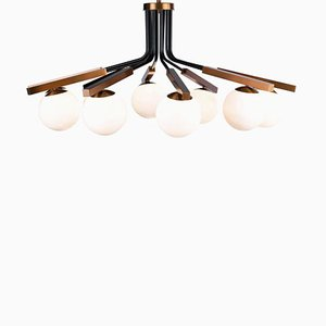 Globe Suspension Lamp by Utu Soulful Lighting