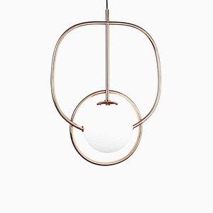 Loop Suspension Lamp by Utu Soulful Ligthing