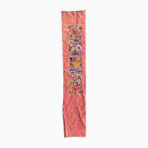 Panel de bordado chino, años 30