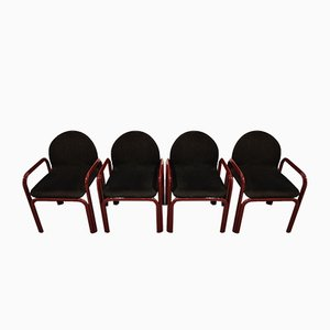 Model Orsay Armchairs by Gae Aulenti for Knoll Inc. / Knoll International, 1970s, Set of 4