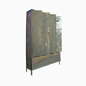 Upcycled Industrial British Locker Cabinet from by Briggs & Cole