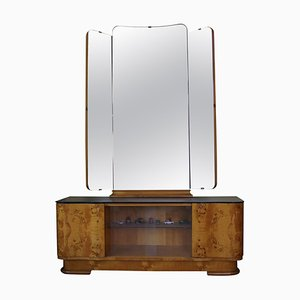 Dressing Cabinet with Mirror from UP Závody, Czechoslovakia, 1950s
