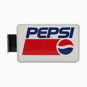 Insegna pubblicitaria Pepsi vintage, 1991