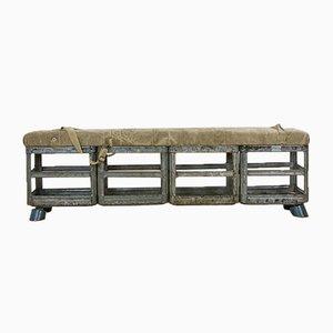 Vintage Army Bench by HRDLA Design