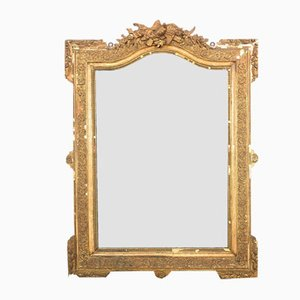 Antique French Napoleon III Gilt Mirror