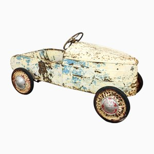 Vintage Metal Pedal Car, 1960s