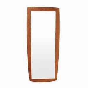 Mid-Century Danish Teak Mirror, 1960s