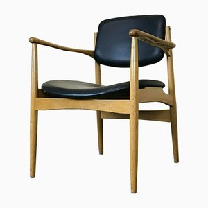 Mid-Century Danish Oak Dining Chair
