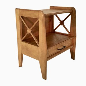Vintage Nightstand by Jacques Adnet