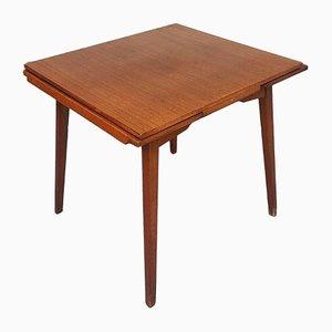 Mid-Century Scandinavian 4-Seat Extendable Dining Table
