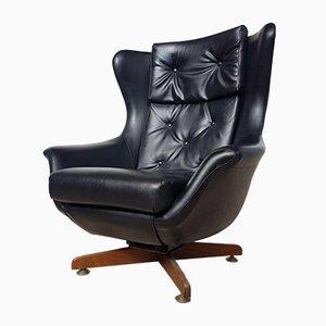 Mid-Century Scandinavian Swivel Tilt Egg Lounge Chair