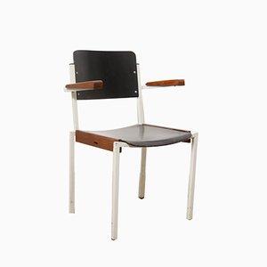 Chaise Empilable Industrielle de Gispen, Pays-Bas, 1960s