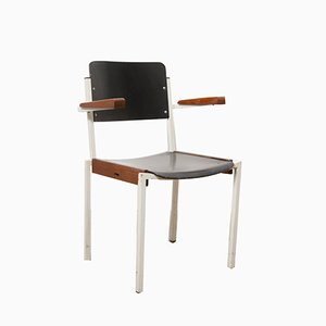 Dutch Industrial Stacking Chair from Gispen, 1960s