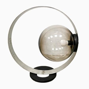 Vintage Globe Table Lamp, 1980s