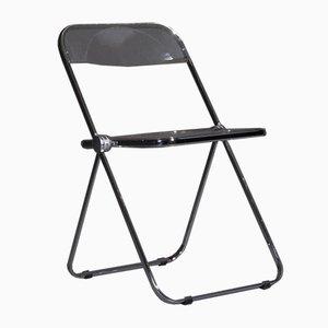 Plia Folding Chairs by Giancarlo Piretti for Anonima Castelli, 1960s, Set of 4