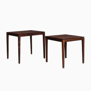 Rosewood Side Tables from Rosenthal, 1970s, Set of 2