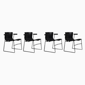 Handkerchief Chairs by Massimo and Lella Vignelli for Knoll International, 1980s, Set of 4