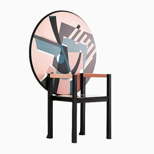 Vintage Zabro Chair by Alessandro Mendini for Zanotta, Italy, 1980s