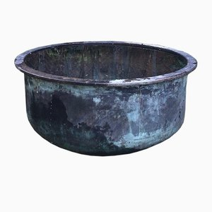 Large Copper Cheese Vat