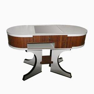Italienischer Mid-Century Kurzwarenhandel Werktisch aus Bauhaus, 1950er