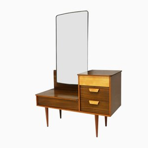 Mid-Century English Chest of Drawers with Mirror, 1960s