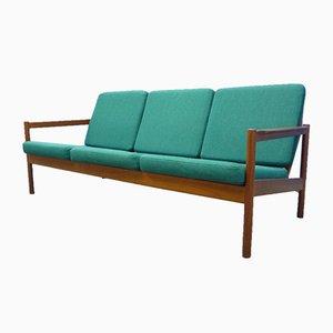 Danish Teak Sofa by Borge Jensen for Magnus Olesen, 1960s