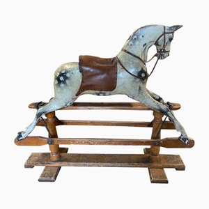 Antique Wooden Rocking Horse from G & J LINES BROTHERS