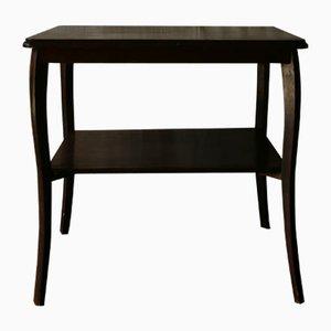 German Oak Side Table, 1930s