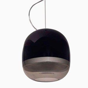 Deutsche Vintage Art Deco Deckenlampe von Vestidello Luca für Vetrarti