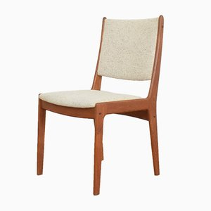 Mid-Century Danish Teak Dining Chairs by Johannes Andersen for Uldum Møbelfabrik, 1960s, Set of 4