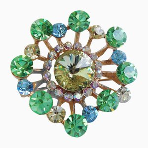 Vintage Brooch by Guy Laroche, 1980s