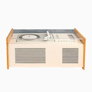 German Brown Model SK61 Radio and Turntable by Hans Gugelot & Dieter Rams for Braun, 1960s