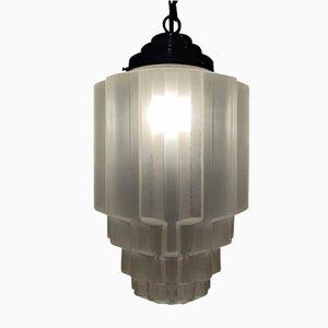 Art Deco Skyscraper Pendant Lamp, 1930s