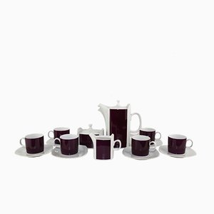 Czechoslovak Coffee Set from Karlovarsky Porcelan, 1960s