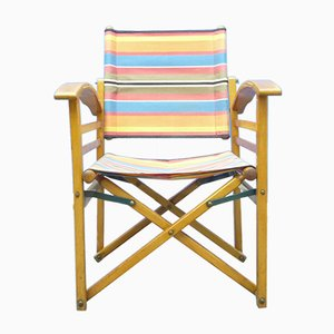 Mid-Century Garden Folding Chair, 1940s