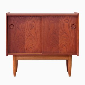 Vintage Danish Cabinet in Teak and Oak, 1960s
