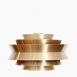 Messing Lampe von Carl Thore für Granhaga, 1960er