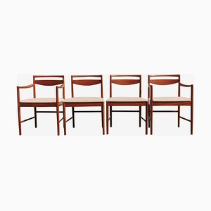 Mid-Century Teak Dining Chairs by Tom Robertson for McIntosh, 1960s, Set of 4