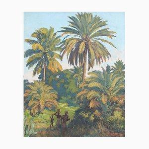 Bajo las palmeras de Madagascar de Paul Léon Bléger, años 30