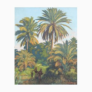 Unter Palmen von Madagascar von Paul Léon Bléger, 1930er
