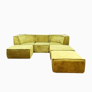 Vintage Modular Sofa by Team Form AG for COR Sitzcomfort, 1970s, Set of 6
