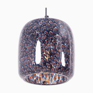 Lampe à Suspension Neverrino en Verre par Gae Aulenti pour Vistosi, Italie, 1970s