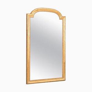 Vergoldeter Goldener Spiegel mit Vergoldetem Rahmen aus vergoldetem Louis Philippe Rahmen aus 19. Jh