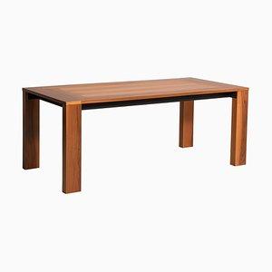 Italienischer Tisch aus Nussholz von Acerbis, 1970er
