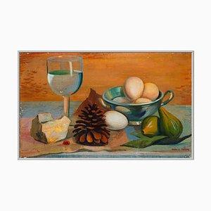 La Pigna Oil on Canvas Painting by Mario Tozzi, 1937