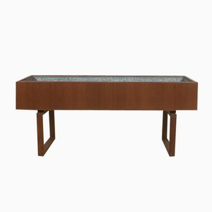 Danish Teak Planter Trough by Salin Mobler